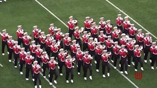 Wisconsin Marching Band Halftime Show 10 14 17