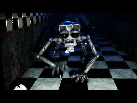 THE ANIMATRONIC ENDOSKELETON COMES TO LIFE AND CHASES ME! || Five Nights at Freddys Remastered thumbnail