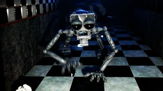 - THE ANIMATRONIC ENDOSKELETON COMES TO LIFE AND CHASES ME Five Nights at Freddys Remastered