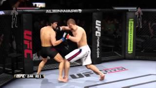 Хабиб Нурмагомедов - Брюс Ли игра UFC 2014