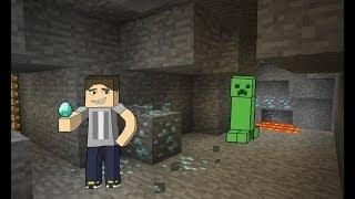 Как быстро найти железо, золото, алмазы и уголь в Minecraft