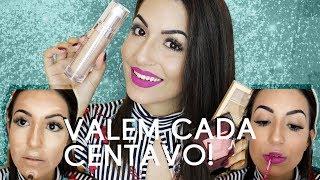 MAQUIAGENS CARAS QUE VALEM A PENA! PELE PERFEITA E MELHOR BATOM DA VIDA | Camila Lima