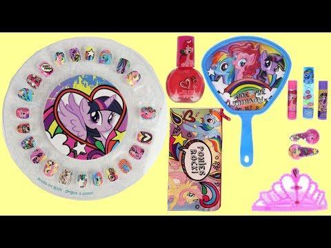 My Little Pony MLP  Nail Polish & Lip Balm Gloss Beauty Supplies for Kids