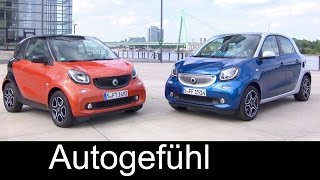 New smart fortwo & forfour DCT Turbo Exterior/Interior colours/trims (new auto gear box)