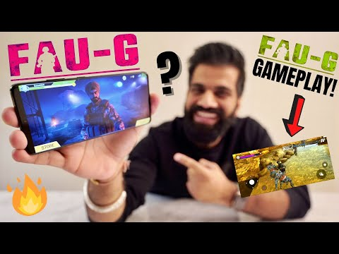 FAU-G Game Exclusive First Look & Gameplay | Action Game | Weapons | Mission | First Impressions🔥🔥🔥