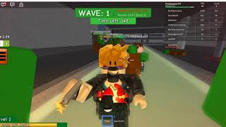 Roblox ataque zumbi! feat. Purple gamer797