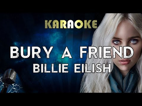 Billie Eilish - bury a friend Karaoke Instrumental