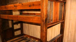 Rustic Bunk Beds