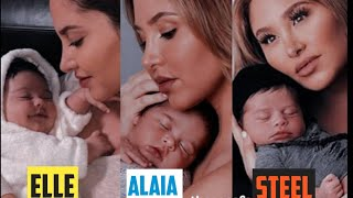 ACE Family Newborn Babies!! Elle, Alaia & Steel ** cutest newborns**
