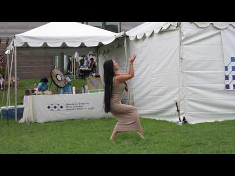 "Weldon Kekauoha - ""Te Tama Ma`ohi"" with Tahitian dance"
