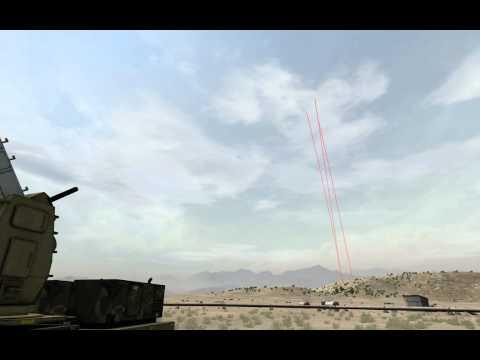 ArmA2 C-RAM daytime shoot