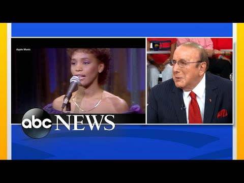 Clive Davis On Discovering 'stunning' Whitney Houston