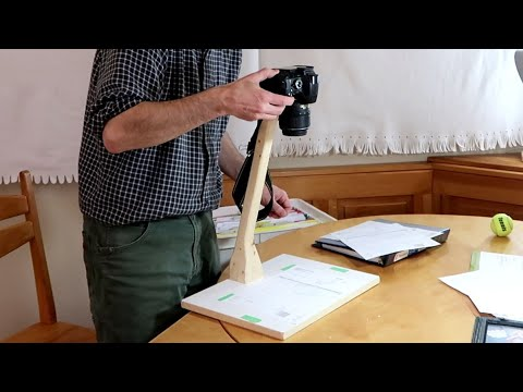 Paperwork Photographing Jig