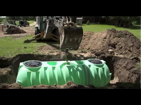 Norwesco Septic Tank Installation