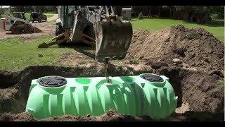 Norwesco Septic Tank Installation