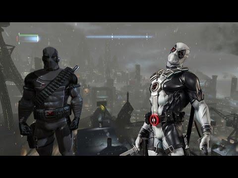Batman Arkham Origins X-Force Deadpool Mod