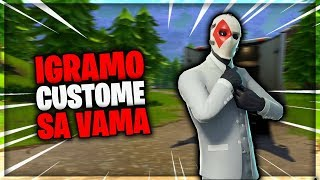 🔴 we PLAY CUSTOME WITH YOU-USE CODE LOMEX-GIVEAWAY in the DESCRIPTION! GW-FORTNITE BALKAN LIVE 🔴