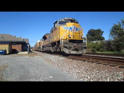 Rail fanning in Salem Illinois