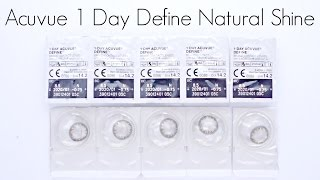 fail or holy grail review acuvue 1 day define natural shine