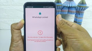 How to force open the WhatsApp fingerprint lock