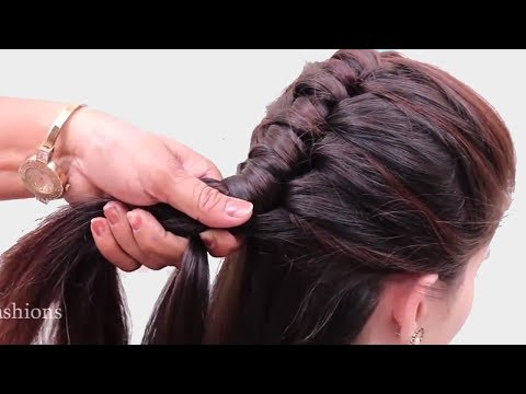 Easy Everyday Hairstyles For Girls || Beautiful & Unique Hairstyles For Long Hair || Hair Style Girl