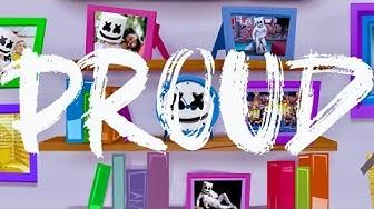 Marshmello - Proud (Official Lyric Video)