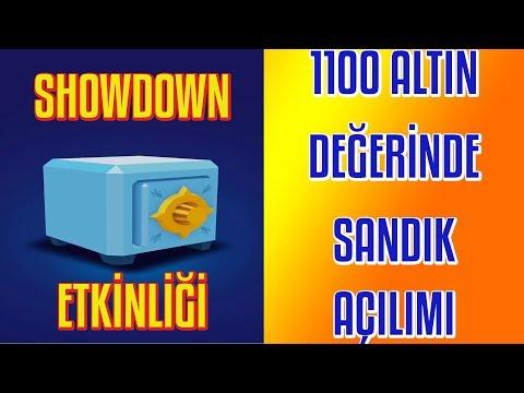 1100 ALTIN DEĞERİNDE SANDIK AÇILIMI - SHOWDOWN ETKİNLİĞİ- BRAWL STARS TÜRKÇE