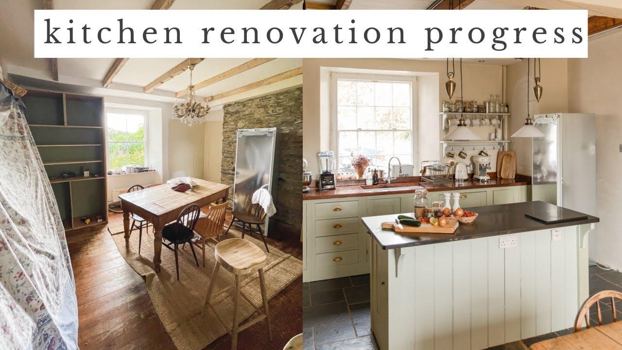 KITCHEN RENOVATION PROGRESS! New Cupboards, Handles, Sockets & Lights!