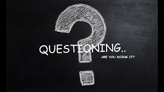Questioning..Are you doing it?  A film by Chada Sathvik