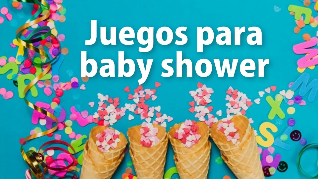 JUEGOS para BABY SHOWER 😁 - DINÁMICAS DIVERTIDAS 🎈🎁 - YouTube