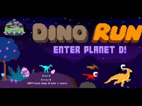 Alien Dinosaur | Dino Run Enter Planet D!