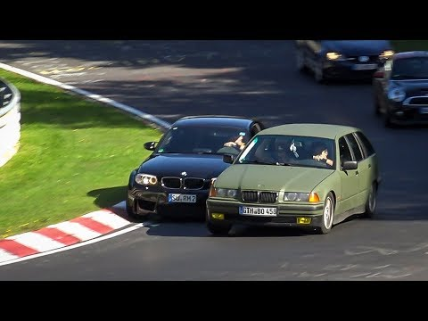 Thumbnail: Dangerous Situations at the Nürburgring - Bad Driving, Collisions and Unsafe Situations Nordschleife