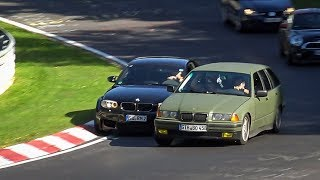 Dangerous Situations at the Nürburgring - Bad Driving, Collisions and Unsafe Situations Nordschleife thumbnail