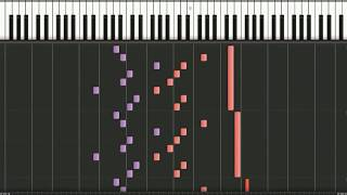 999: Morphogenetic Sorrow (piano version) [Synthesia]