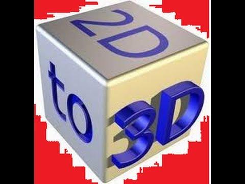 Como converter 2D para 3D pelo DVDf