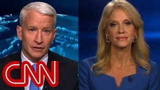 KellyAnne Conway, Anderson Cooper clash over Russian intel report thumbnail