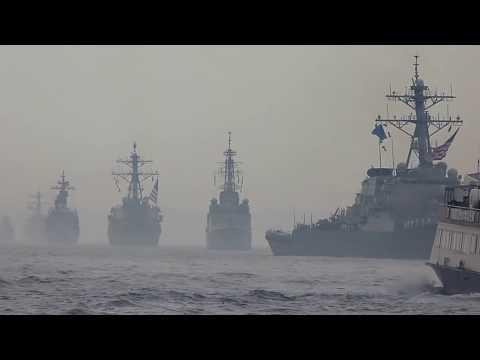 Fleet Week New York 2012: Arrival of the fleet