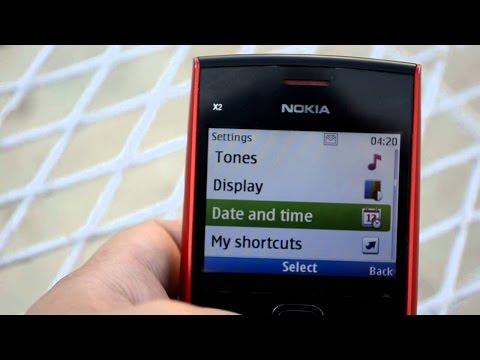 Nokia X2-01 software update solution,Nokia X2-01 facebook,whatsapp version update