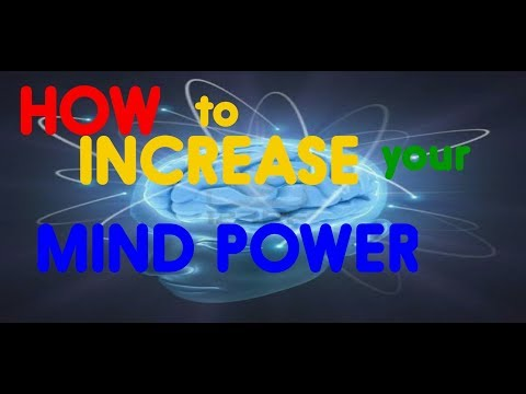 Increase your mind power in 10 minute only.