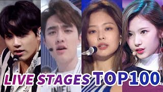 [TOP 100] MOST VIEWED K-POP MUSIC SHOW AND COMEBACK SHOW LIVE STAGES MP3