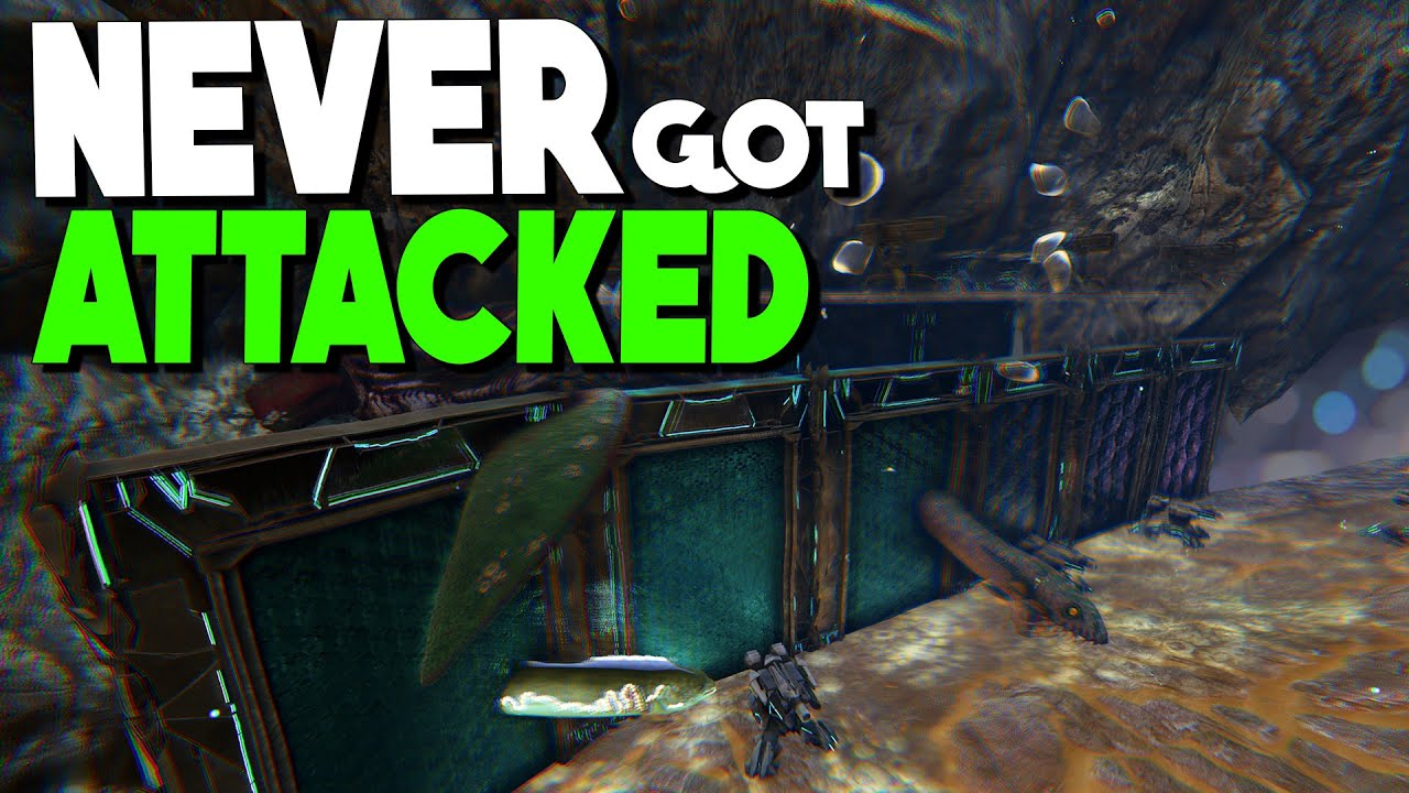 FULL BASE TOUR, WE WERE NEVER ATTACKED! - MTS PvP ARK: Survival Evolved  S1 Ep26