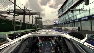 Formula 1 2011 Career Mode #1