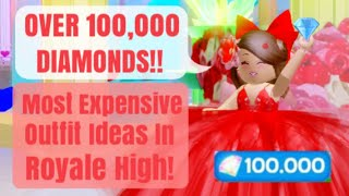 Most Expensive Cute Outfit Ideas on Royale High!! | ROBLOX