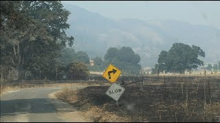 Farmers, packers assess damage as wildfires rage
