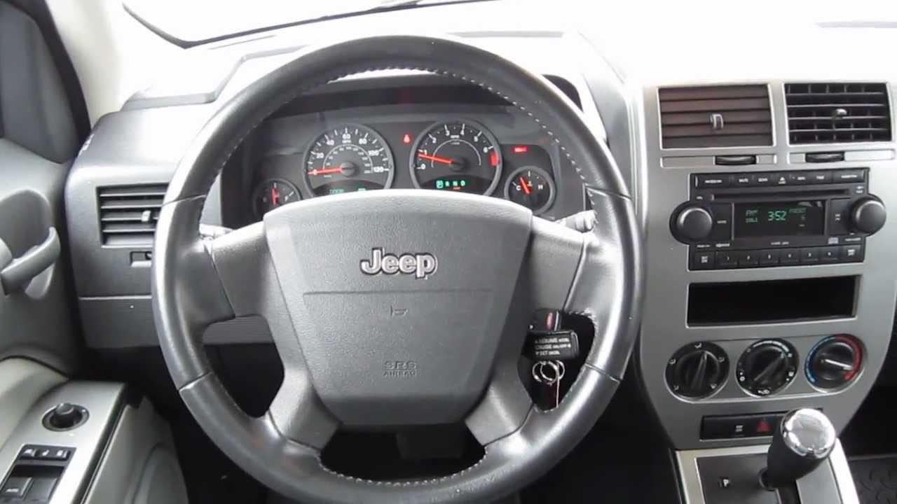 2007 Jeep Patriot Sport 4wd Silver Stock L342370 Interior Youtube