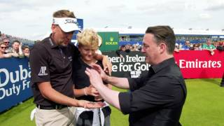 Poulter and Beef can't believe magic trick