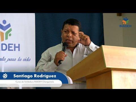 Santiago Rodríguez se siente preparado gracias al INADEH