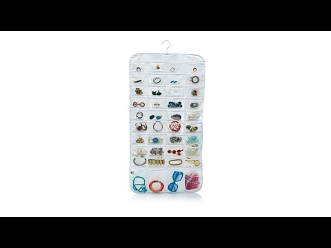 Ultra 80pocket Hanging Jewelry Organizer