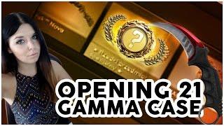 Opening 21 gamma case | Moja pierwsza kosa!