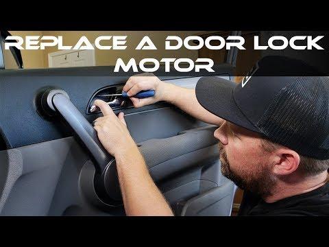 HOW TO REPLACE HONDA DOOR LOCK ACTUATOR